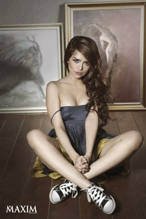 insight-zone : Fahria Yasmin, Model Sexy Hot MAXIM Indonesia