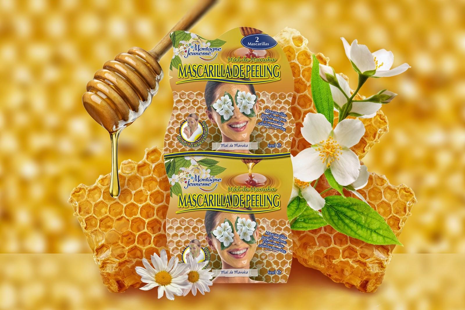 Montagne Jeunesse Mascarilla miel de Manuka