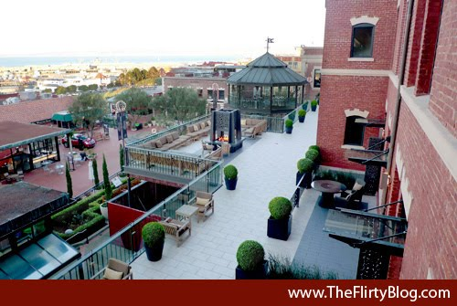 The Fairmont Heritage Place A Residential Style All Suite Hotel Is Perched Right Above Ghirardelli Square And Across Street From San Francisco Bay
