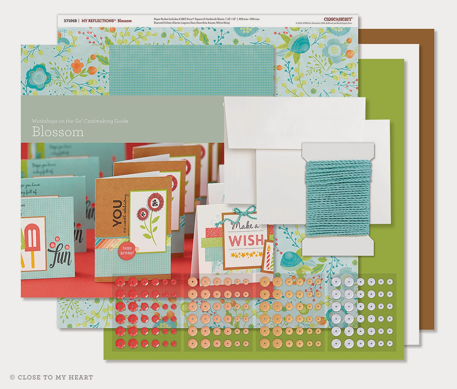 CTMH Blossom Cardmaking Kit