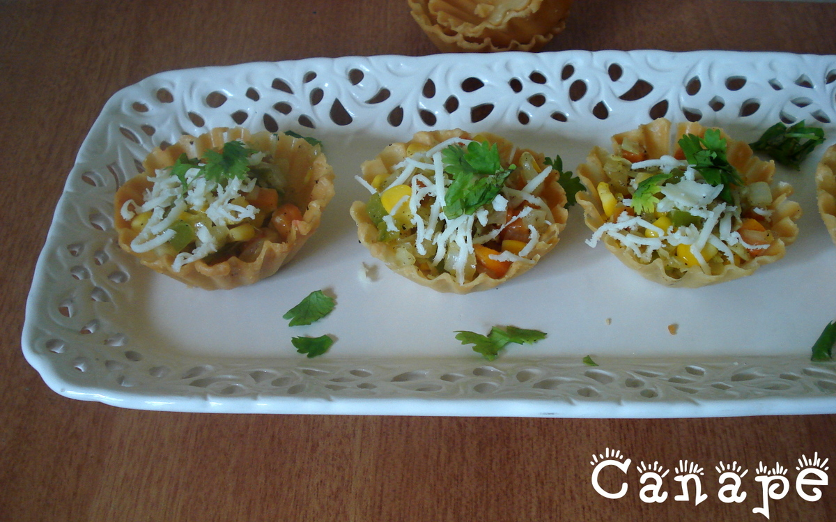 Palakkad chamayal canape for Canape fillings