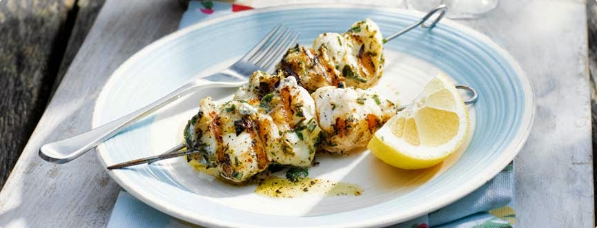 barbecue-monkfish-kebab