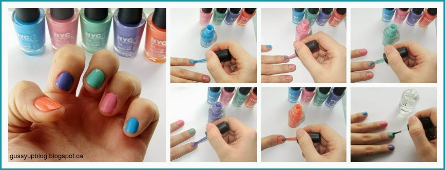 NYC In a New York Color Nail Polish Spring 2014 Collection
