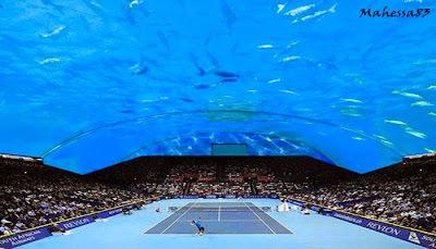 Mengenal Lapangan Tenis Di Bawah Laut Dubai MENGENAL LAPANGAN TENIS DI BAWAH LAUT DUBAI