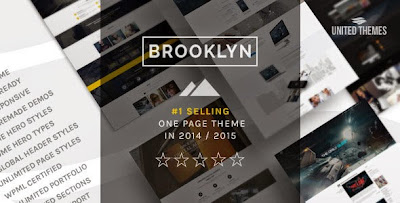 Brooklyn Creative One Page Multi-Purpose WordPress Theme Free [Version 2.8.5]
