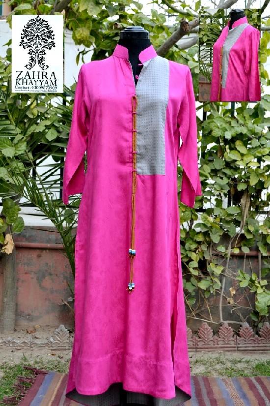 Simple Kolaaj Casual Dresses 2013  2014 For Women 4002  Fashion Amp Styles