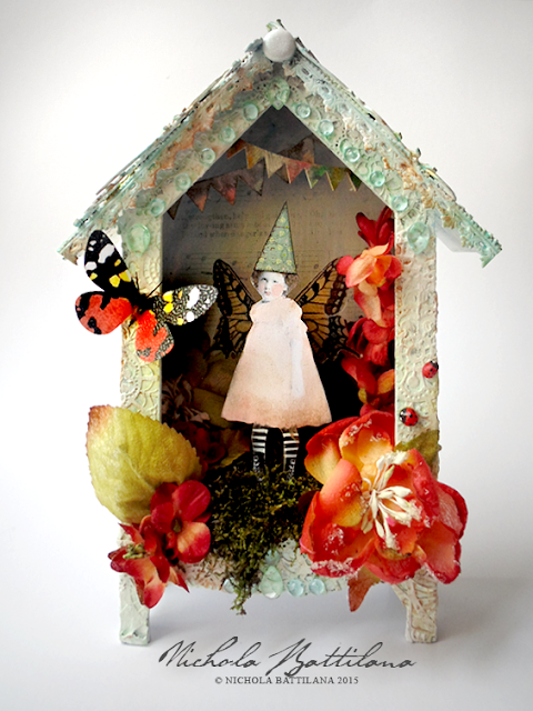 Pixie House Shrine - Nichola Battilana