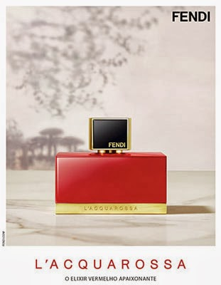 Fendi L'Acquarossa perfume feminino o elixir vermelho apaixonante