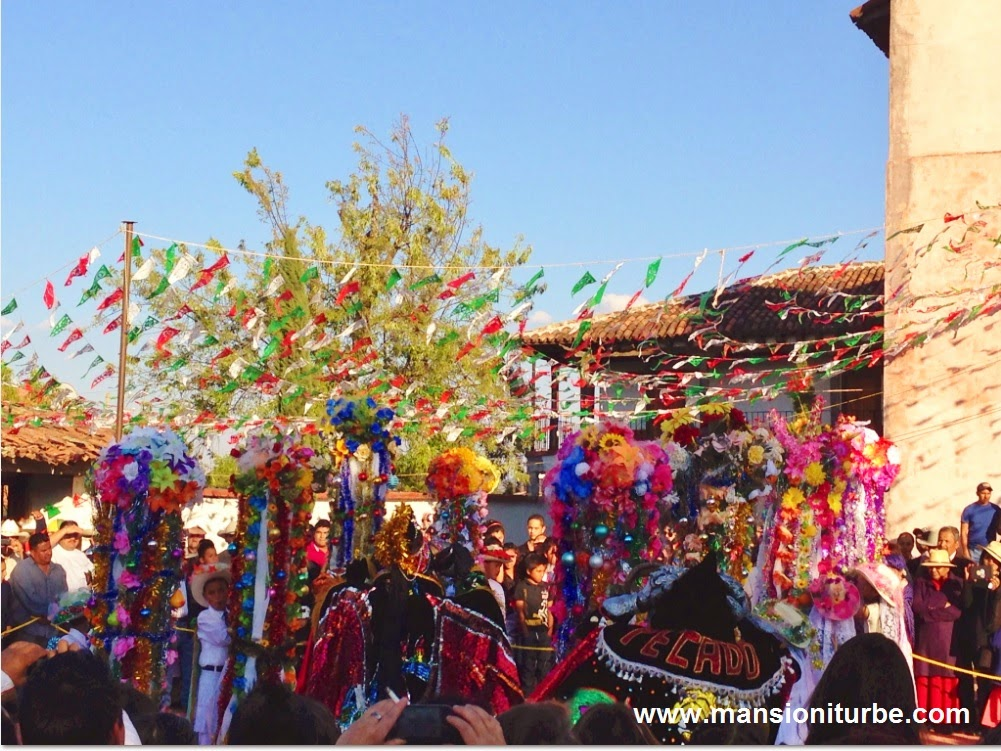 Tocuaro during Dia de la Candelaria festivity of February 2