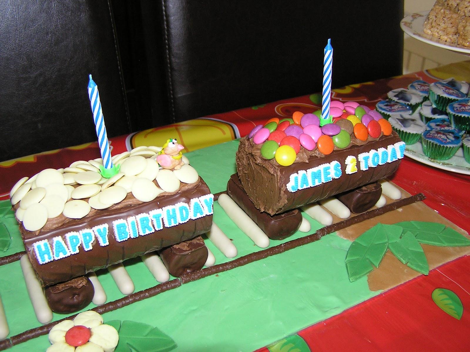 No Bake Train Cake Nicolas No Bake Birthday Cakes
