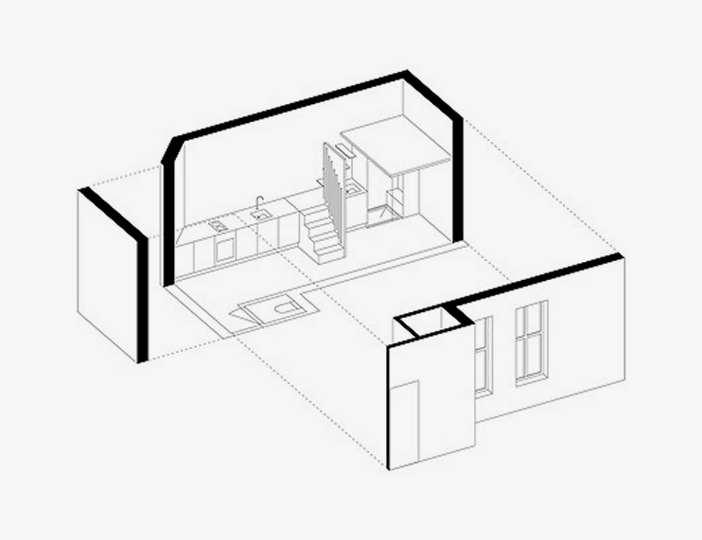 03-Axonometric-View-Betillon-Dorval‐Bory-Architecture-Micro-French-Renovation-Flat-20m²-www-designstack-co