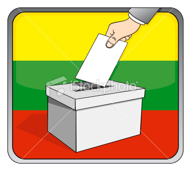 [Jeu] Suite d'images !  - Page 29 Stock-illustration-9824461-lithuanian-elections-ballot-box-and-national-flag