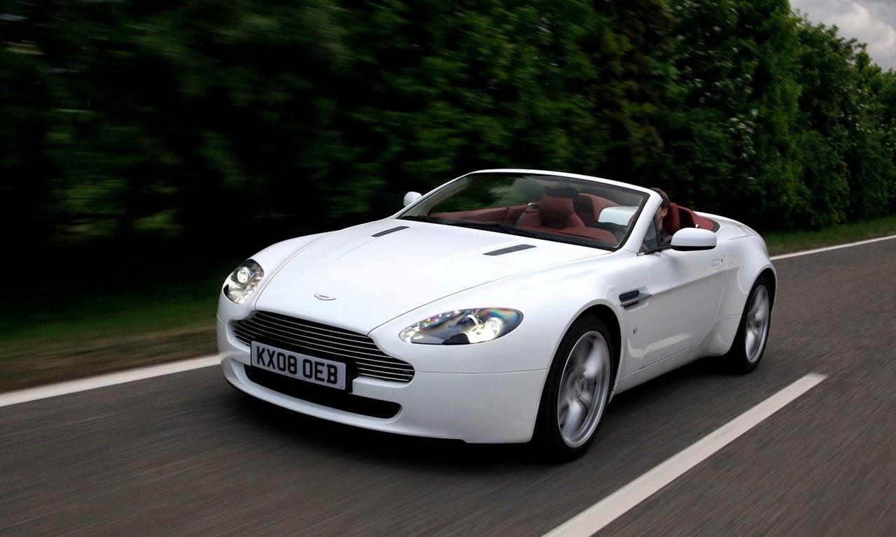 Aston Martin V8 Vantage Roadster Stratus White 2008