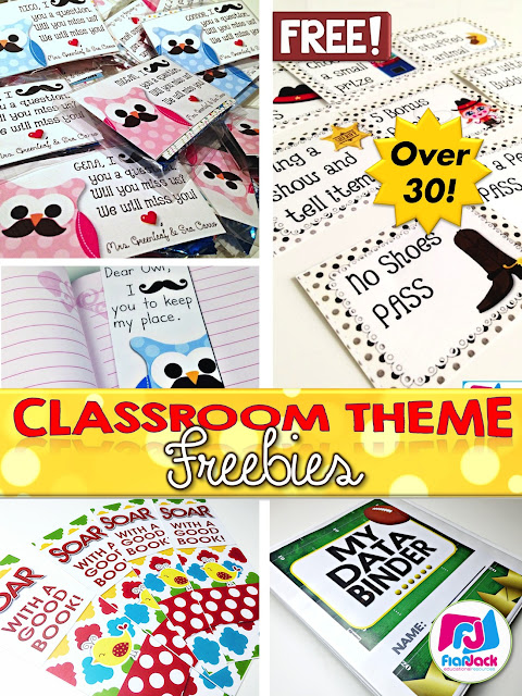 30 FlapJack Classroom Theme Freebies