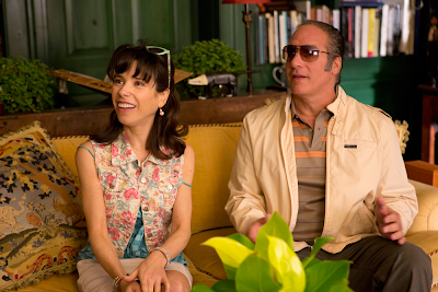 Sally Hawkins and Andrew Dice Clay in Blue Jasmine