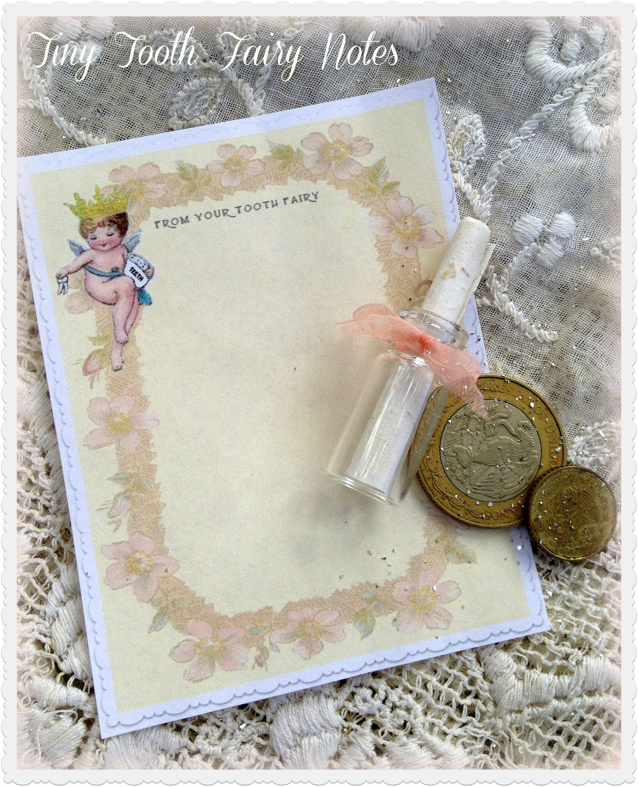 jennuine by rook no 17 tiny tooth fairy notes a fanciful free