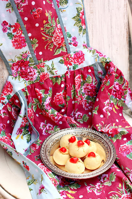 buy cute aprons and some jam drops