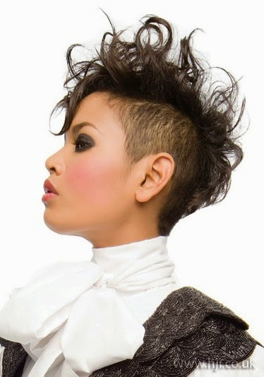 Wysepka Fashion and Styles Shaved Hairstyles for Black