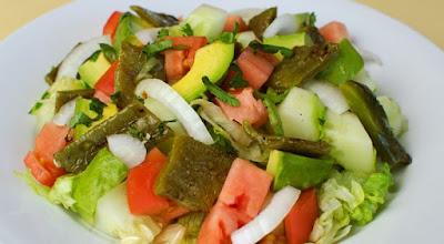 Delicious healthy Mexican food
