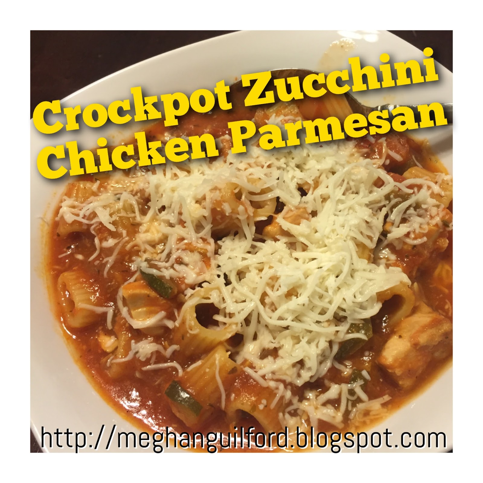 The Belly Rules The Mind Crockpot Zucchini Chicken Parmesan