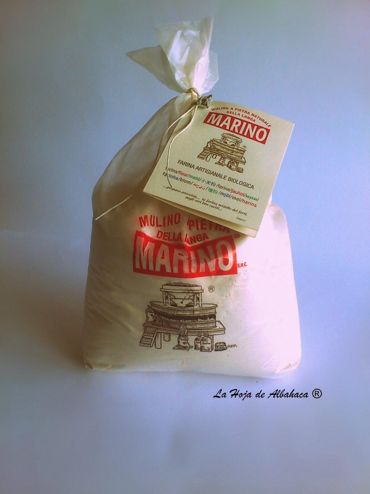 Harina ecológica, Mulino Marino, Harina 00, harina para pizza, harina de trigo duro, harina de trigo sarraceno, harina de espelta