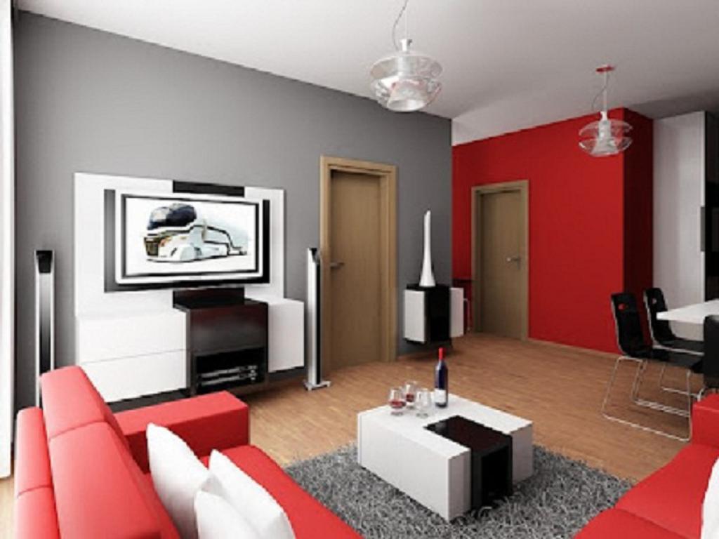 Decoracion de sala moderna 2013