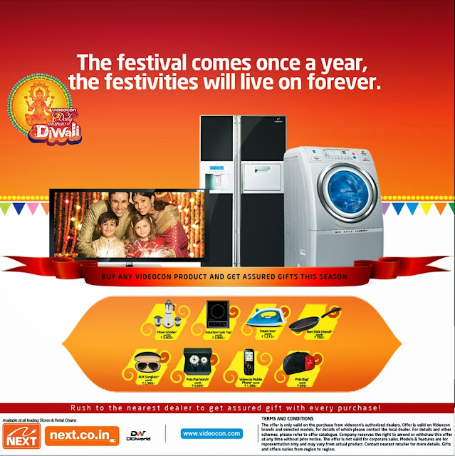 Videocon Diwali Offer 2013