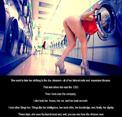 Using the laundromat