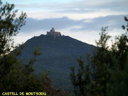 El Castell de Montsoriu des del primer control