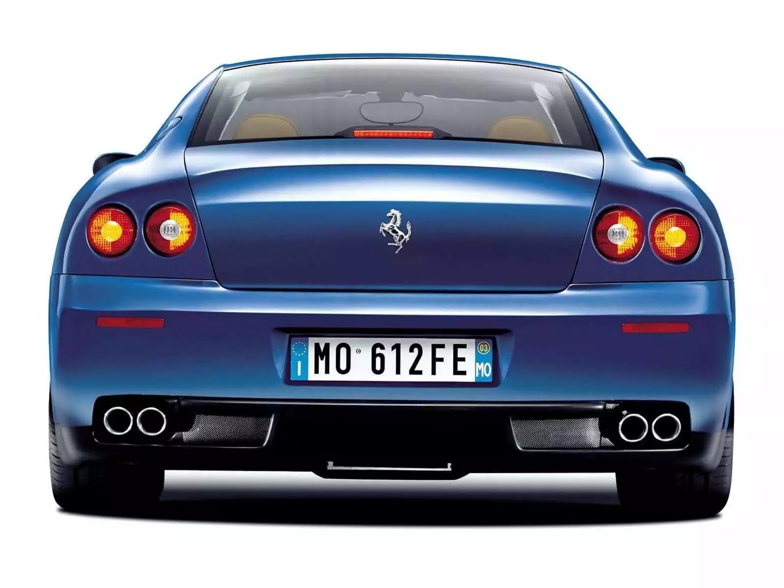 Hình ảnh siêu xe Ferrari 612 Scaglietti 2004 & nội ngoại thất