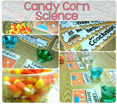 The Great Candy Corn Experiment is a fun way for students to practice the scientific method. An easy DIY experiment perfect that incorporates writing along with science.