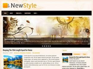 NewStyle -Free Wordpress Theme
