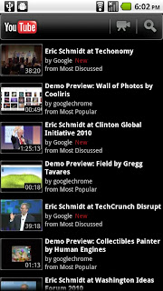Android YouTube App Gets Update