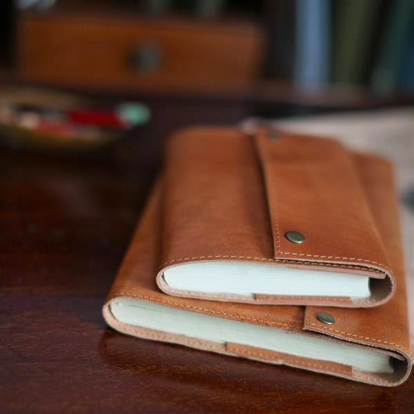 Cuaderno Cuero Recargable