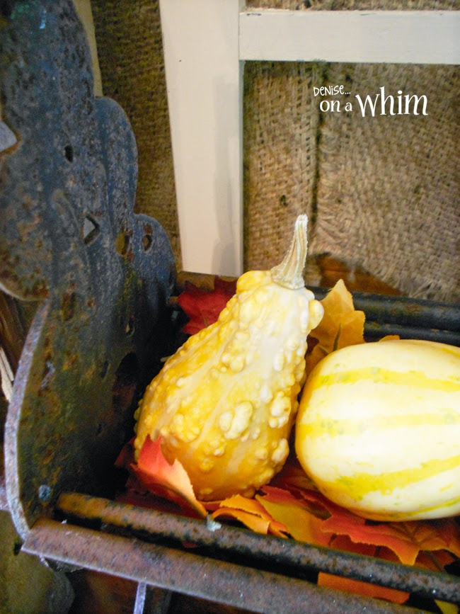 This Rusty Patina is Perfect for Displaying the Rich Colors of Fall! | Denise on a Whim
