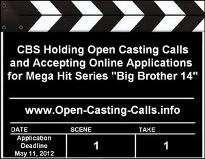 Big Brother 14 Application Open Casting Calls