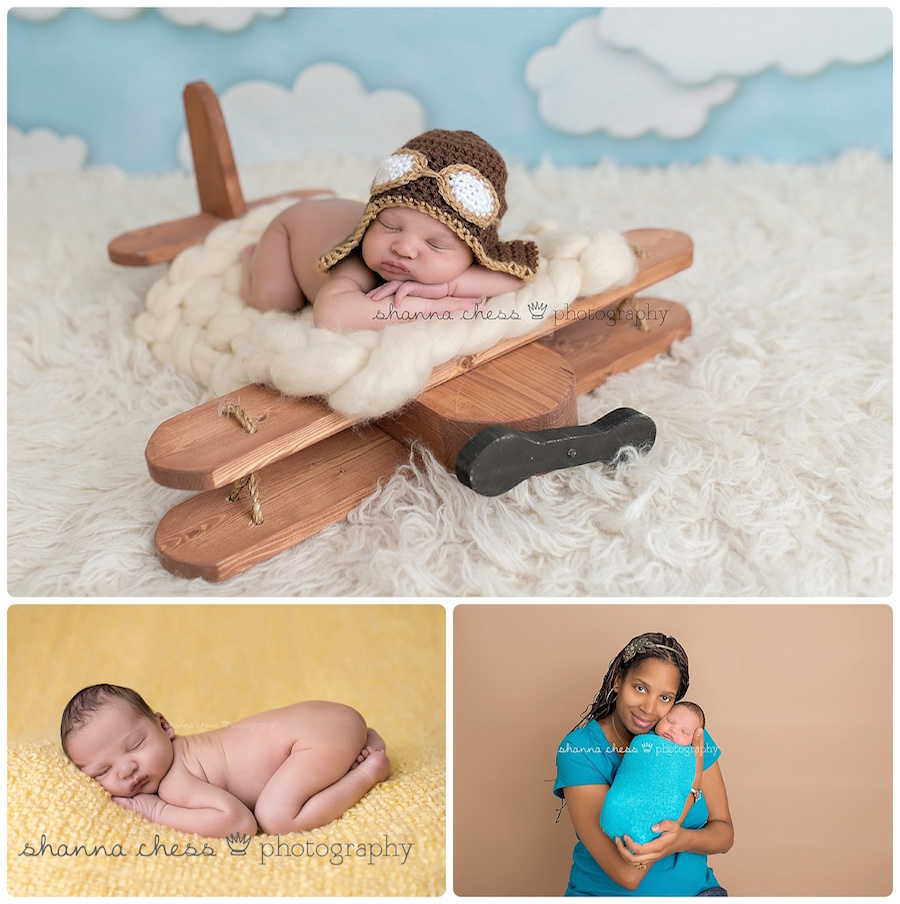 eugene springfield oregon newborn photography airplane mom