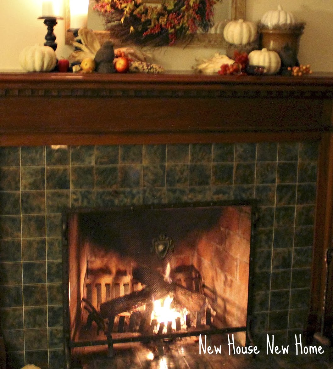 Autumn Fireplace - New House New Hom