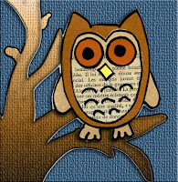 Paper Piecing owls in browns free template