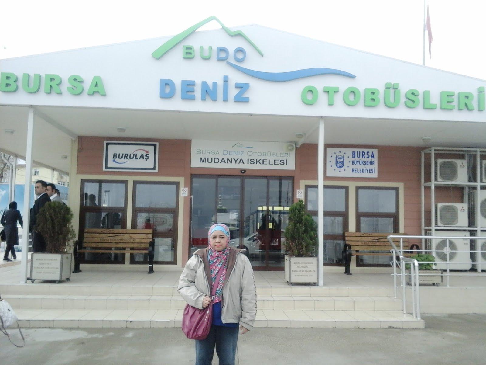 di Bursa, Turki