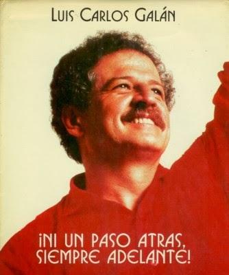 Luis Carlos Galán, candidato a la Presidencia, asesinado