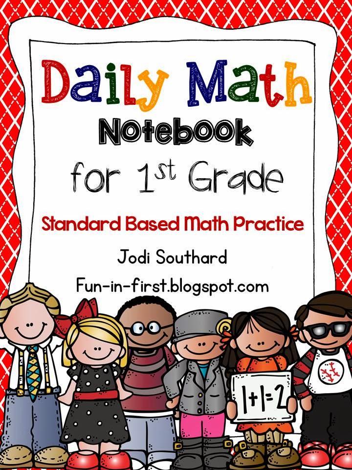 http://www.teacherspayteachers.com/Product/Daily-Math-Notebook-1st-Grade-Edition-1303873