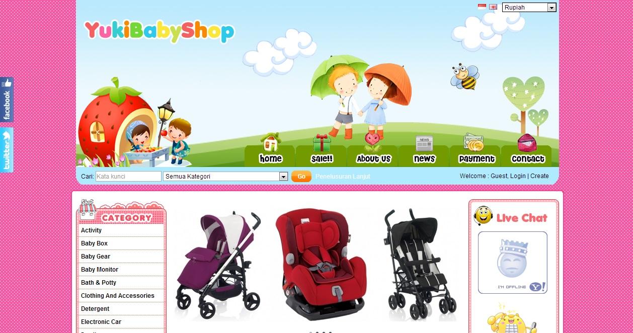 our love journey online dan offline baby shop. Black Bedroom Furniture Sets. Home Design Ideas