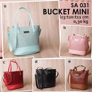 jual online Handbag Wanita Cantik Aneka Warna Harga Murah Meriah - Bucket Mini SA 031