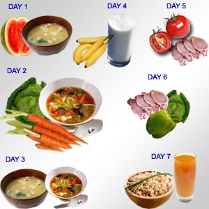 2 Day Diet Plan - Weight Loss Diet Plan for Vegetarians: 20 Pounds ...