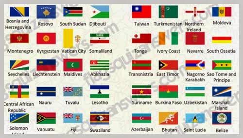 Game Quiz Tebak Nama Bendera Negara Untuk Android
