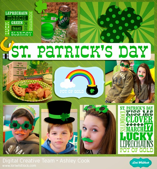 Lori Whitlock--St. Patrick's Day by Ashley Cook