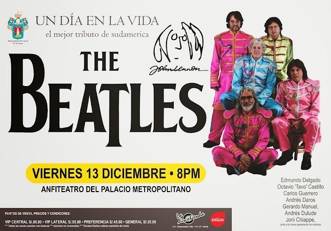 Un día en la Vida: Homenaje a The Beatles y Lennon - 13 diciembre