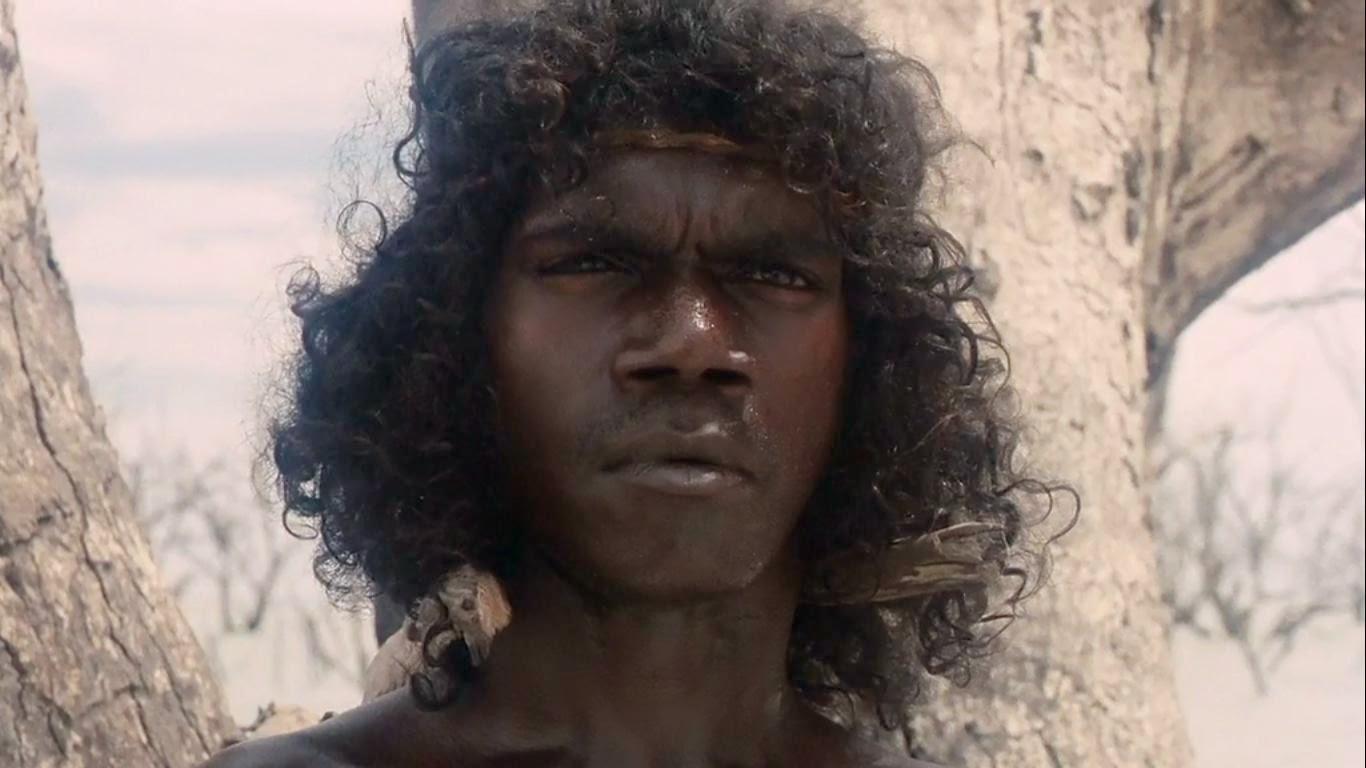 Aborigène photographié dans le film de Bill Douglas