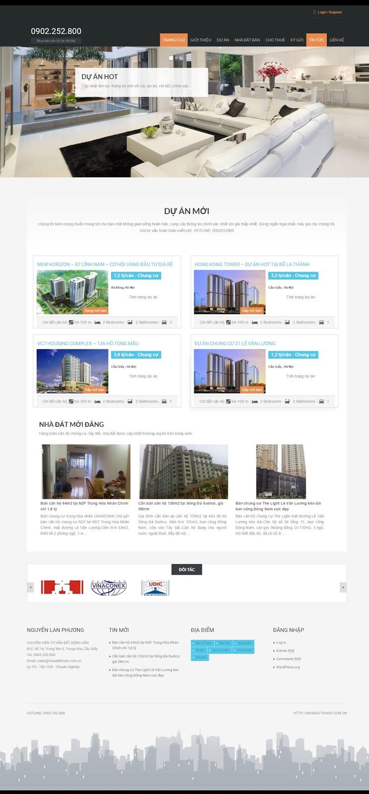 BLOG-04 Mẫu blogger bất động sản đẹp và chuyên nghiệp